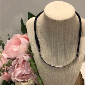 Metal Leather Necklace and Choker